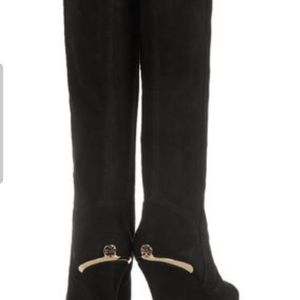 New Tory Burch suede boots, no dust bags & box